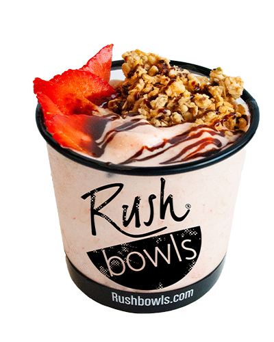 Rush Bowls acai bowl Menu